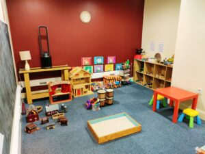 Galway Play Therapy Room